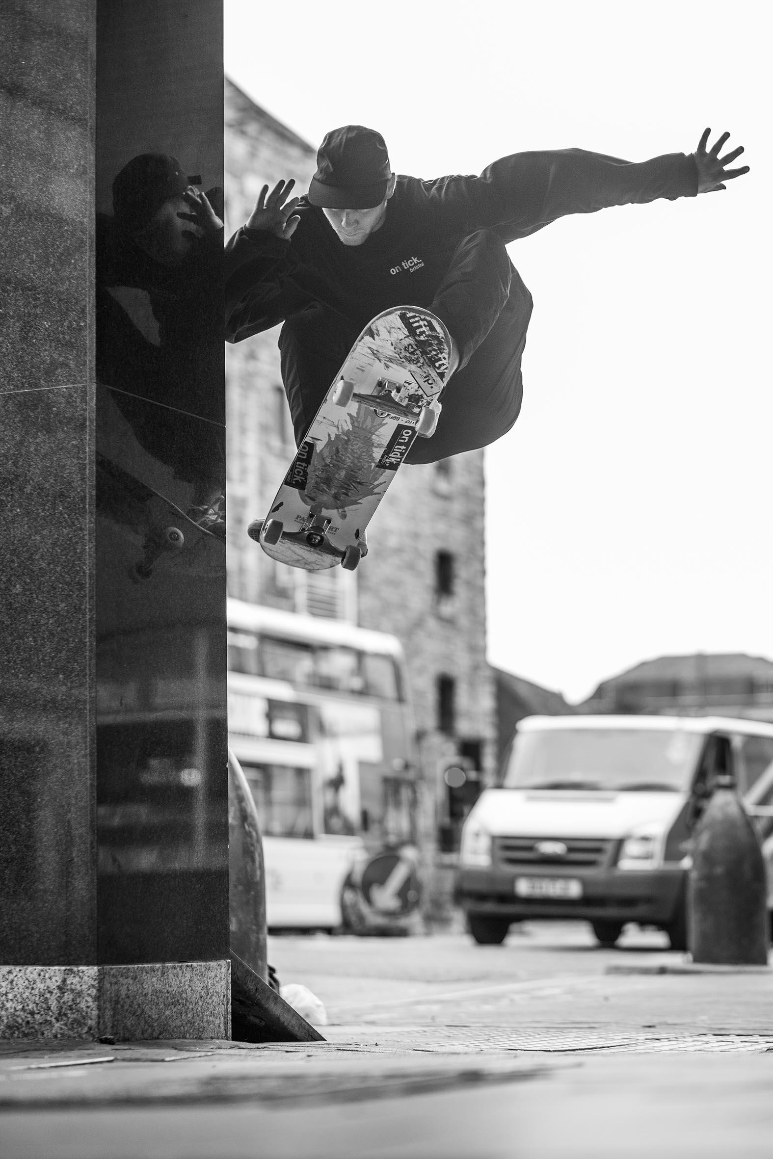 Phil Parker - frontside wallie