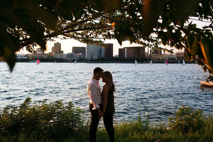 Cambridge Engagement Photo