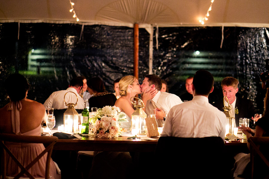 Laudholm Farm Tent Reception