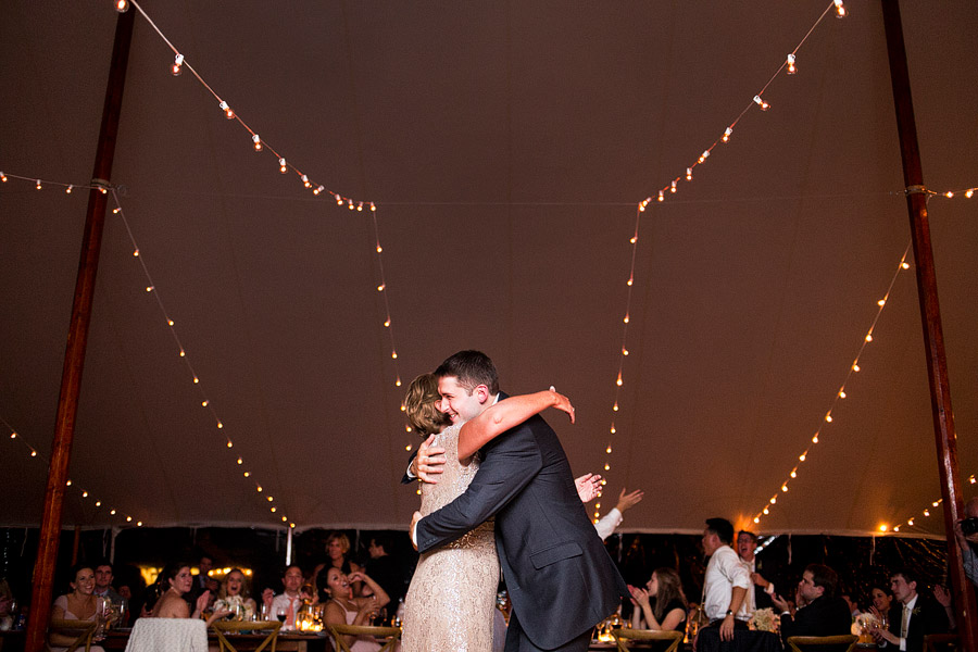 Laudholm Farm Tent Wedding