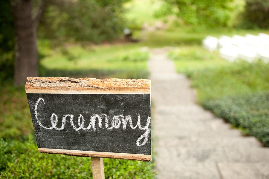 overbrook house wedding detail