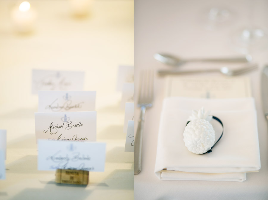 Shelter Harbor Golf Club Wedding Table