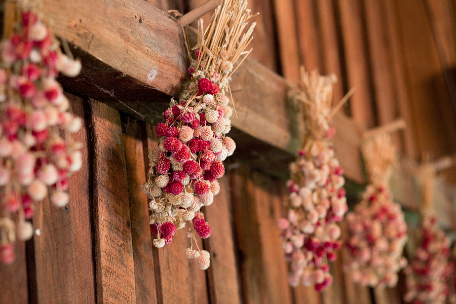 Tyron Farm wedding decor