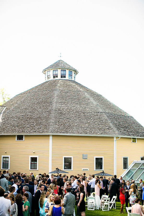 The Inn At the Round Barn Wedding Cocktail Hour