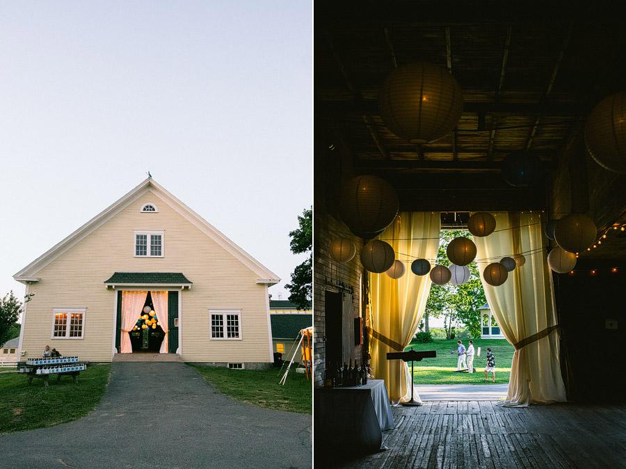 Laudholm Farm Wedding Decor