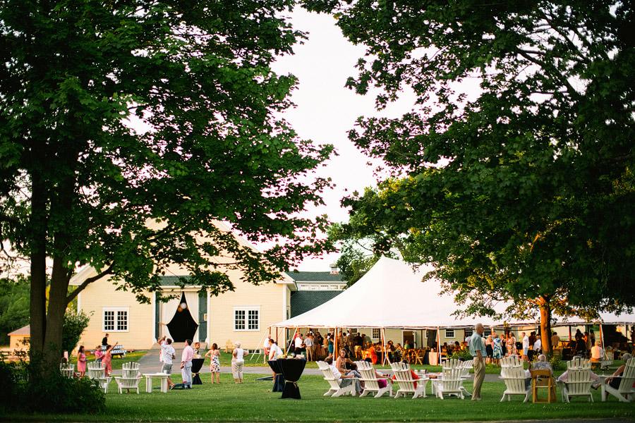 Laudholm Farm Tent Wedding