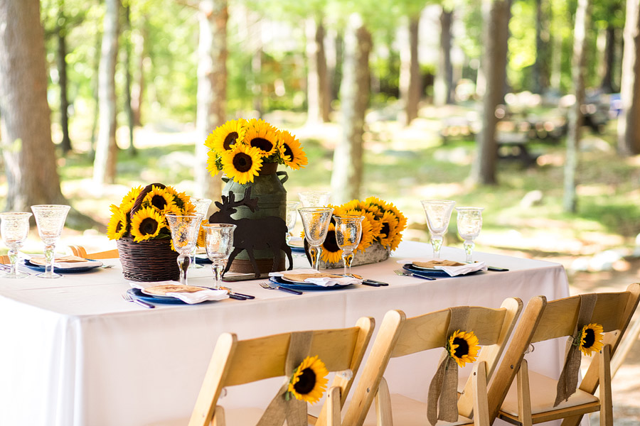 Sandy Island Camp Wedding