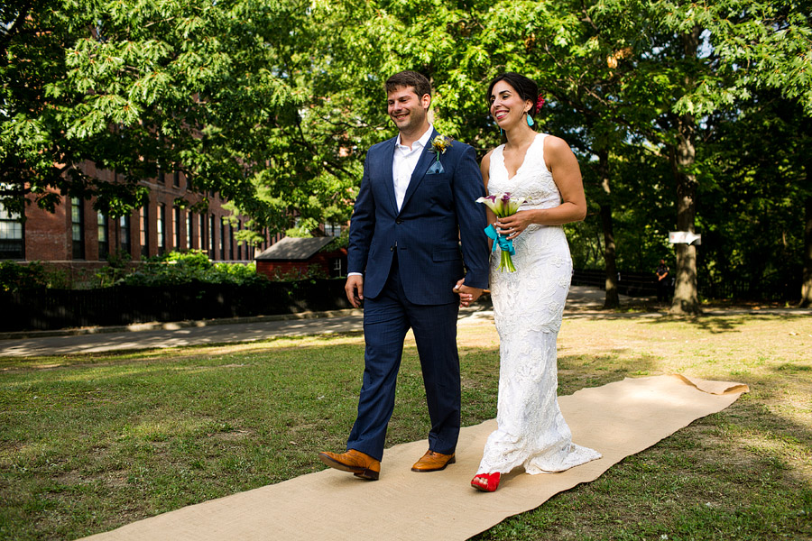 Charles River Museum of Industry and Innovation Wedding Ceremony