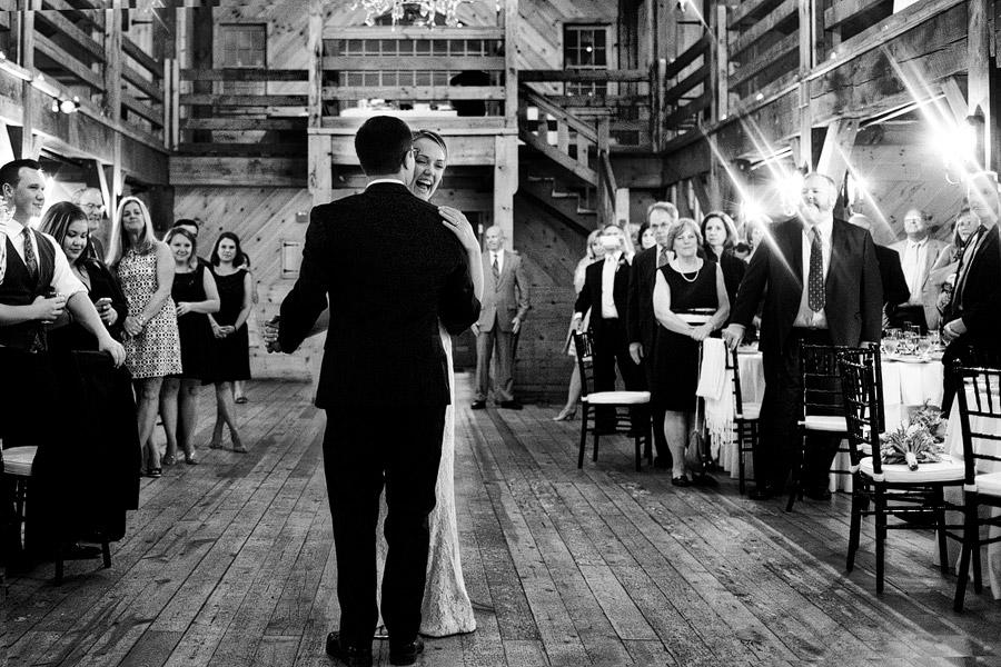 First dance at Red Lion Inn Wedding