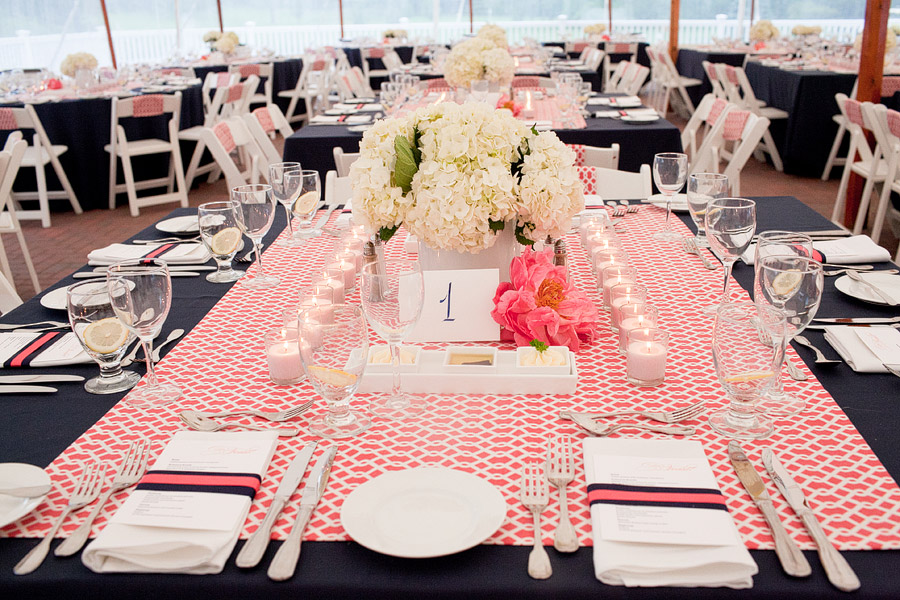 Abenaqui Country Club wedding decor
