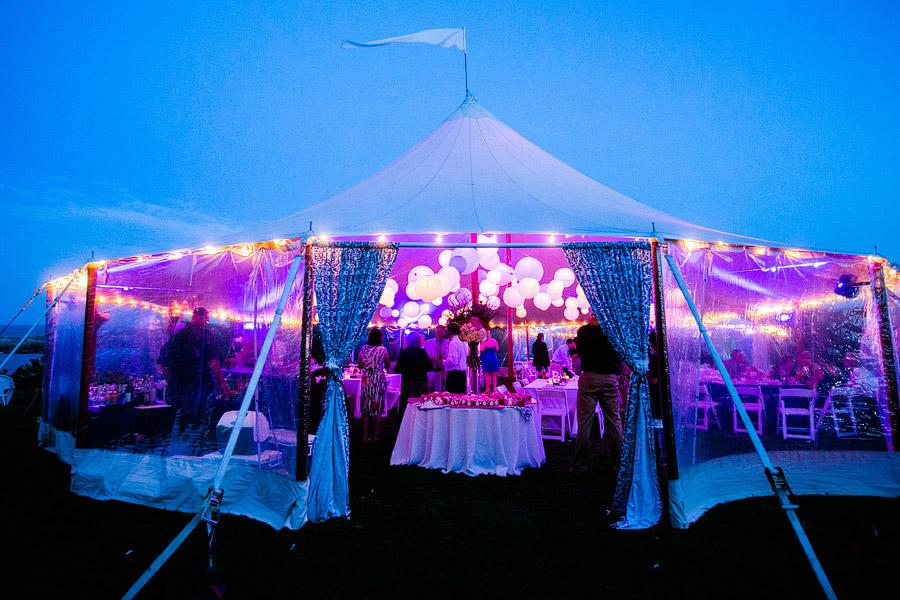 Sperry Tents Seacoast UplightingSperry Tents Seacoast Asian Lanterns