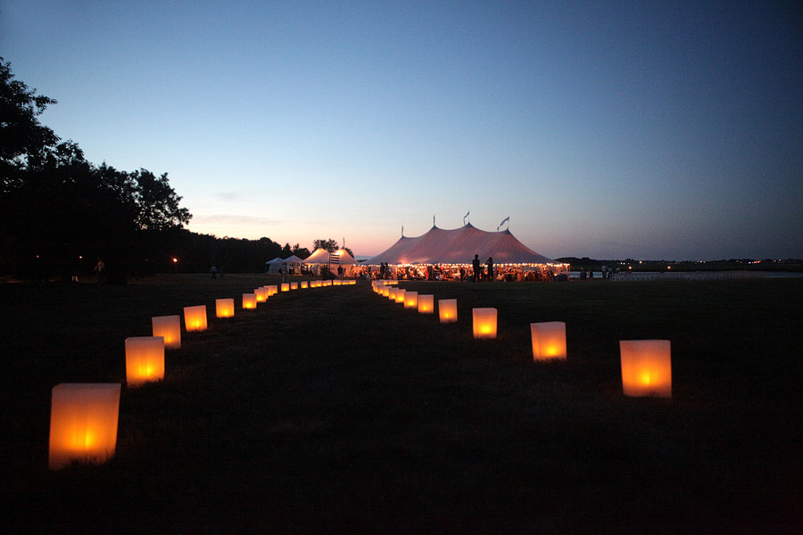 Sperry Tents Seacoast Ocean front wedding