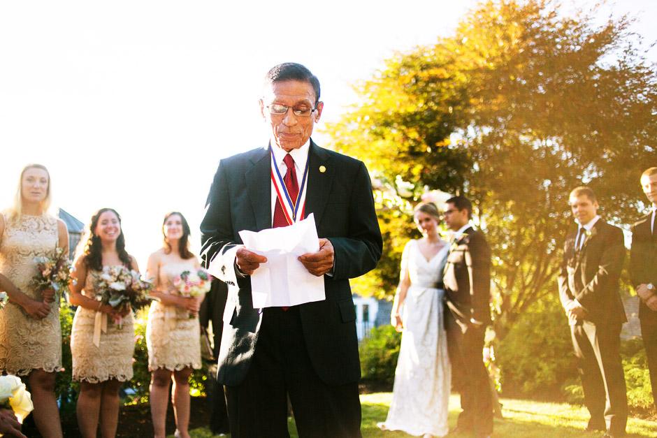 Red Lion Inn Wedding Ceremony Photos
