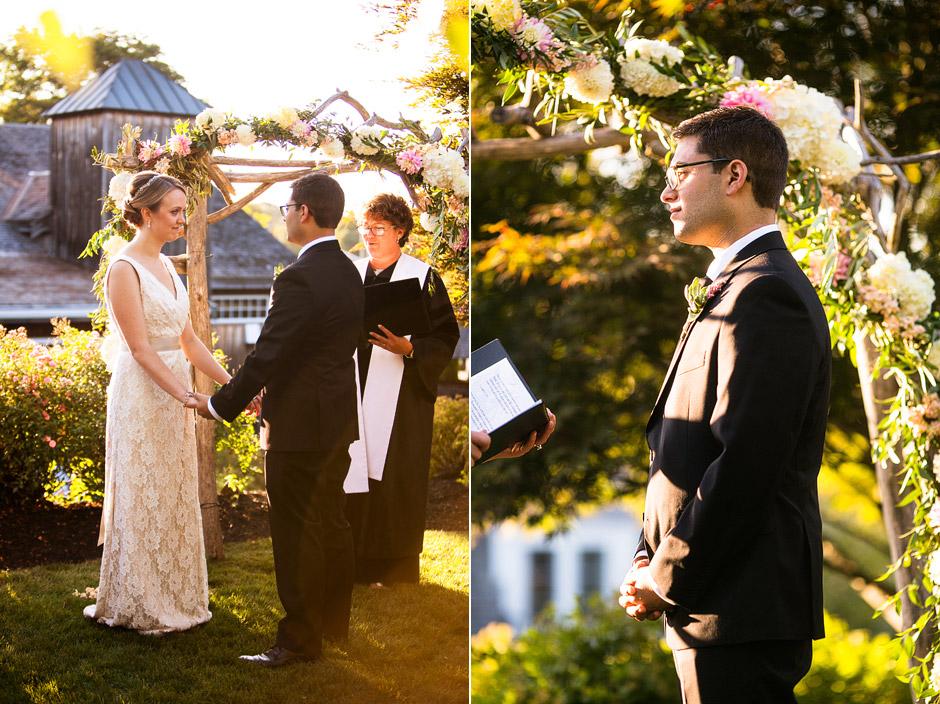 Red Lion Inn Wedding Ceremony