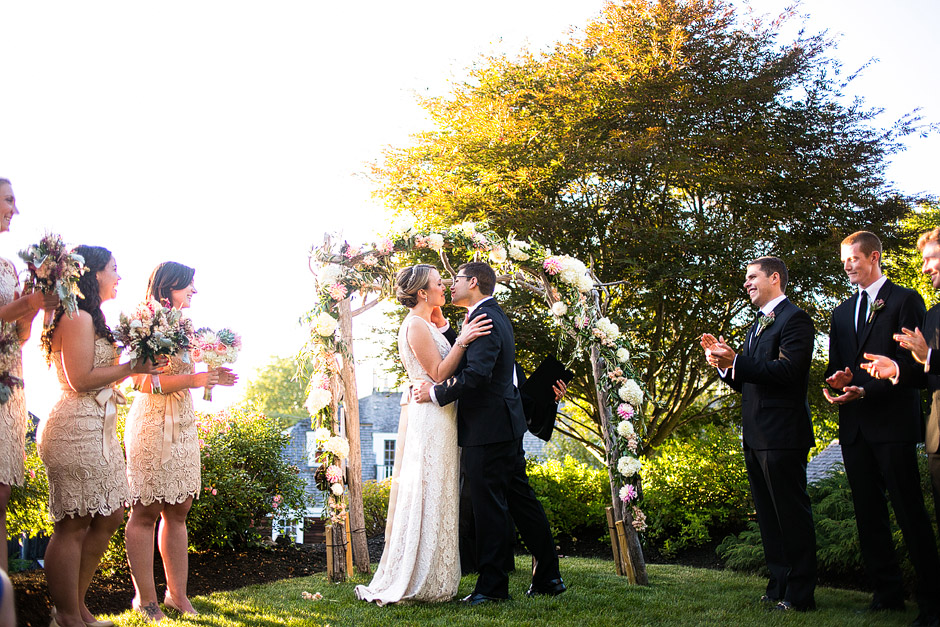 Red Lion Inn Wedding Ceremony Images