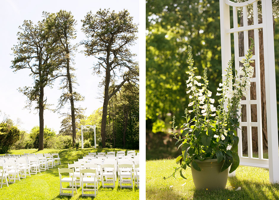 Overbrook House Wedding Ceremony