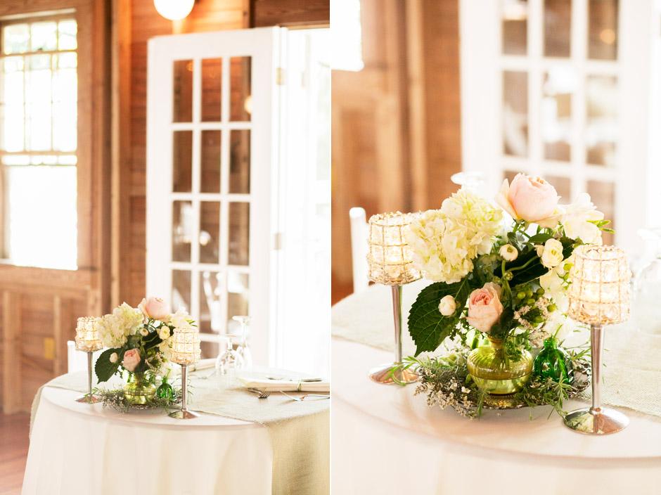 Overbrook House Rustic Barn Wedding Reception