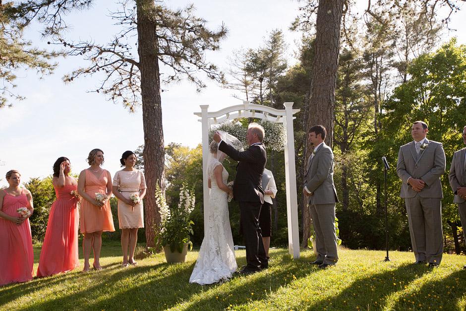 Overbrook House Barn Wedding Ceremony