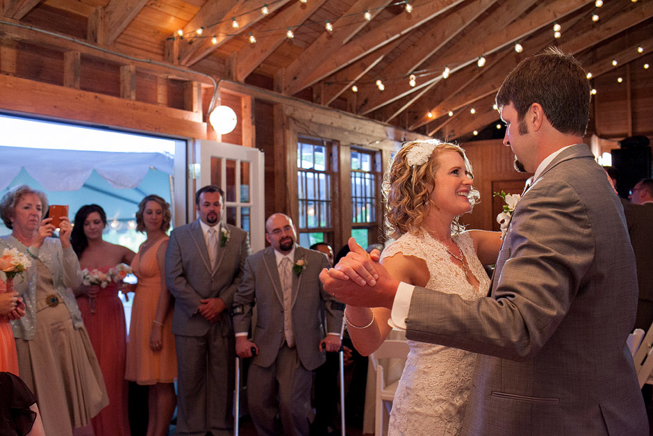 Overbrook House Barn Wedding Reception