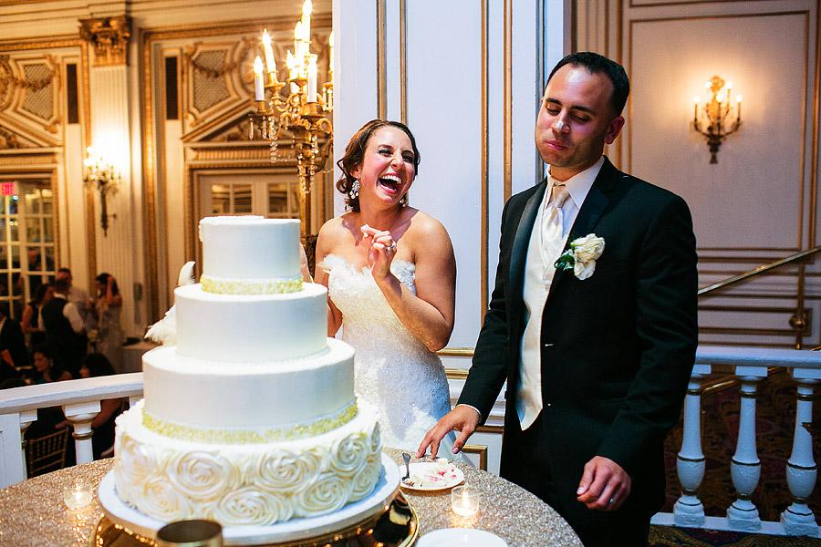 fairmont copley plaza wedding cake