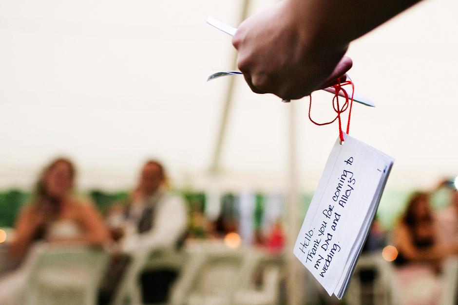 summer tent wedding nh