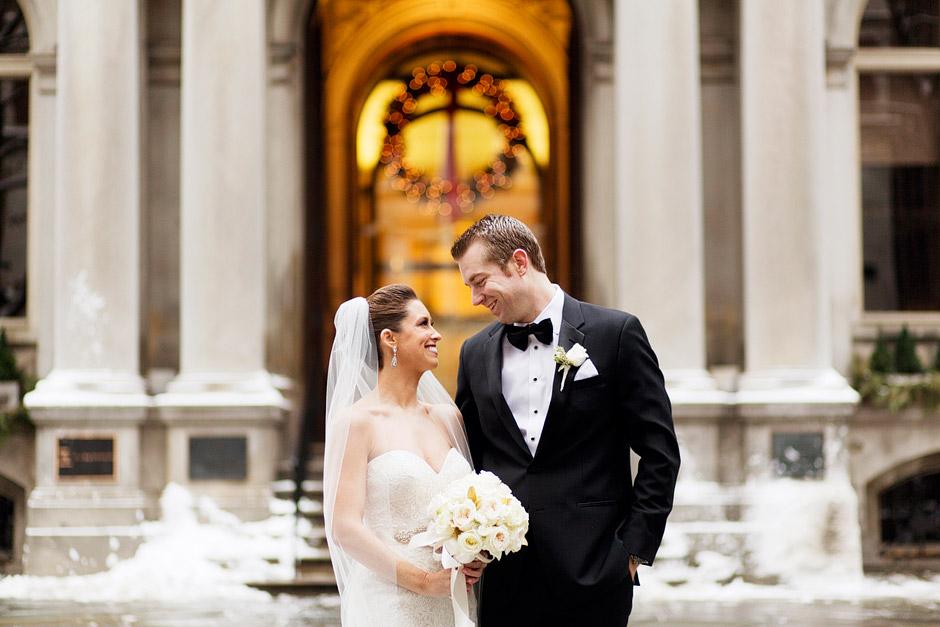 Winter Boston Wedding Photos