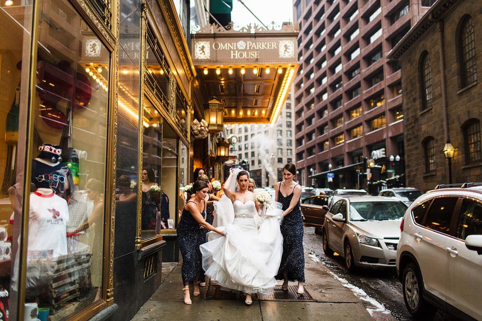 Omni Park House Wedding Photos