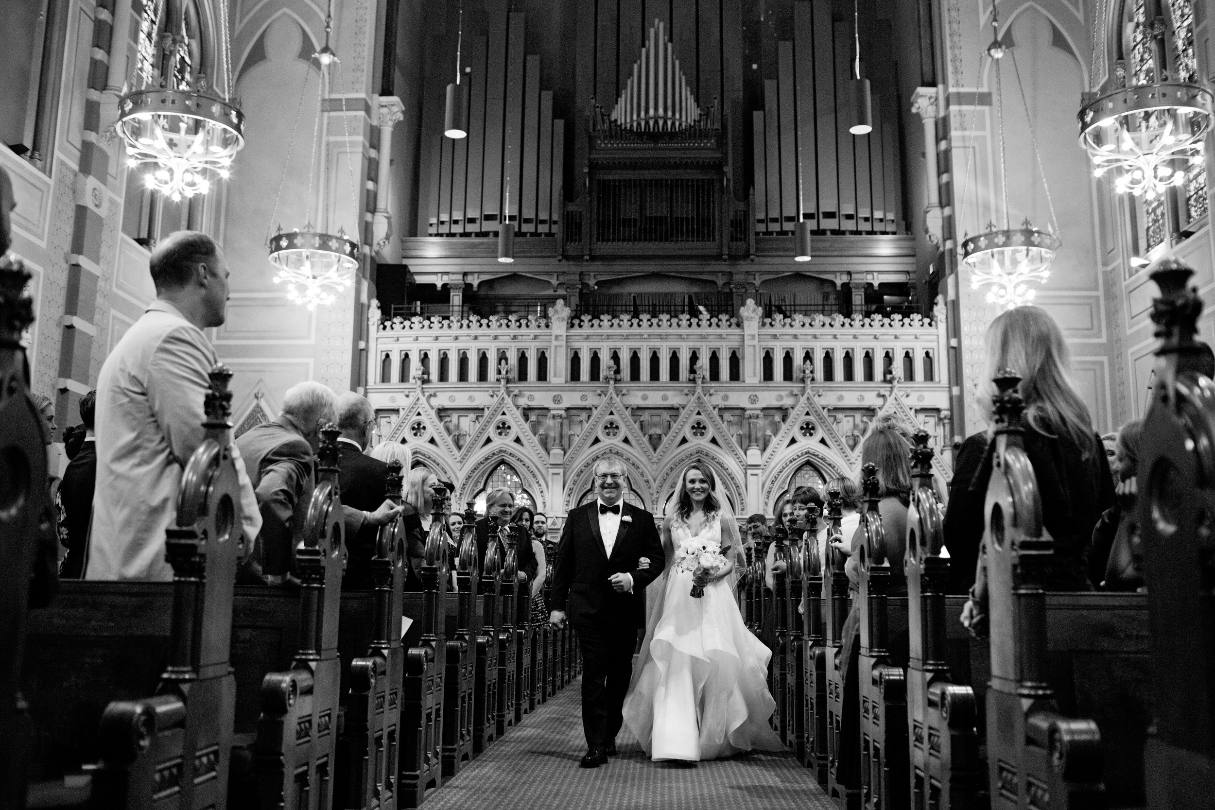 old south church wedding ceremony photo