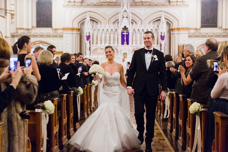 Omni Parker Hotel Boston Wedding Aisle