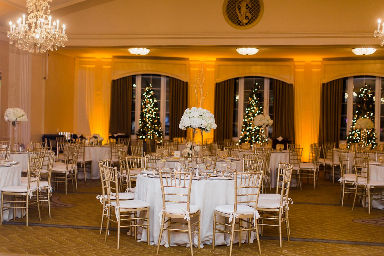 Omni Parker Hotel Winter Wedding Photos