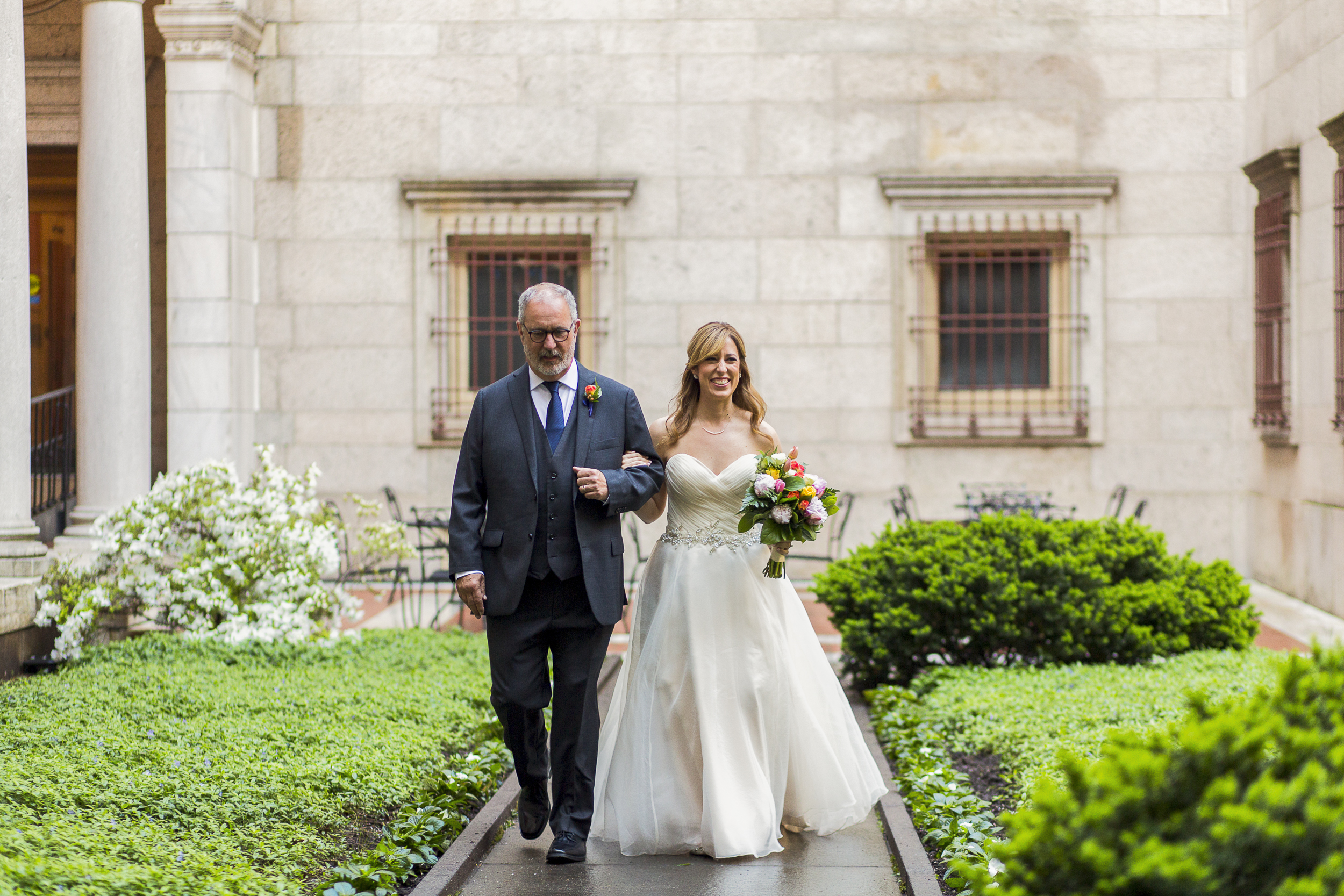 Boston Public Library Wedding Ceremony