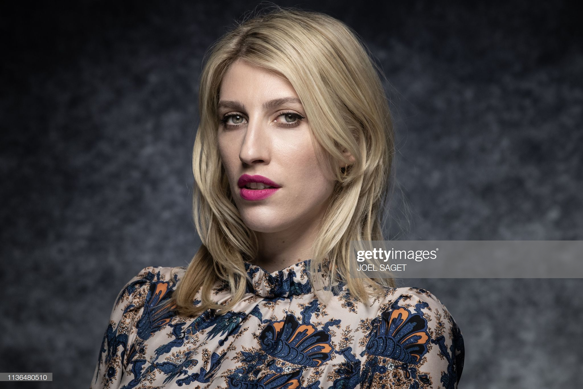 US writer, television host, and producer Karley Sciortino poses during a photo session during the 2nd edition of the Cannes International Series Festival (Canneseries) on April 10, 2019 in Cannes, southern France. (Photo by JOEL SAGET / AFP)        (Photo credit should read JOEL SAGET/AFP/Getty Images)