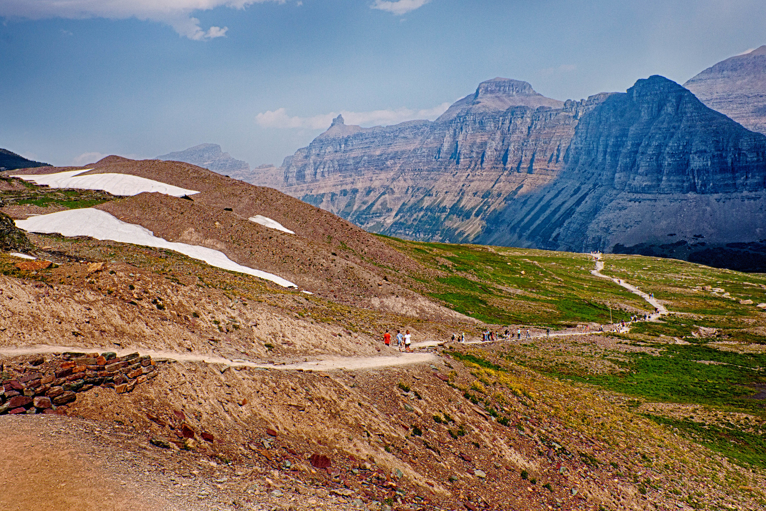Logan Pass Trail at the Top II