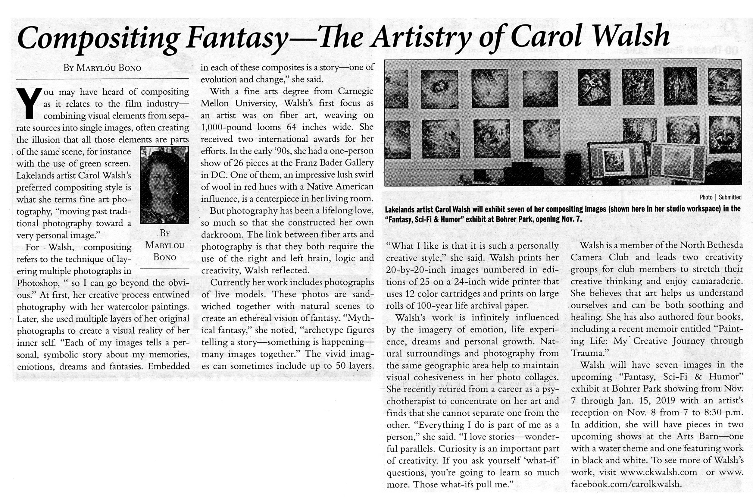 Article in Gaithersburg Courier.jpg