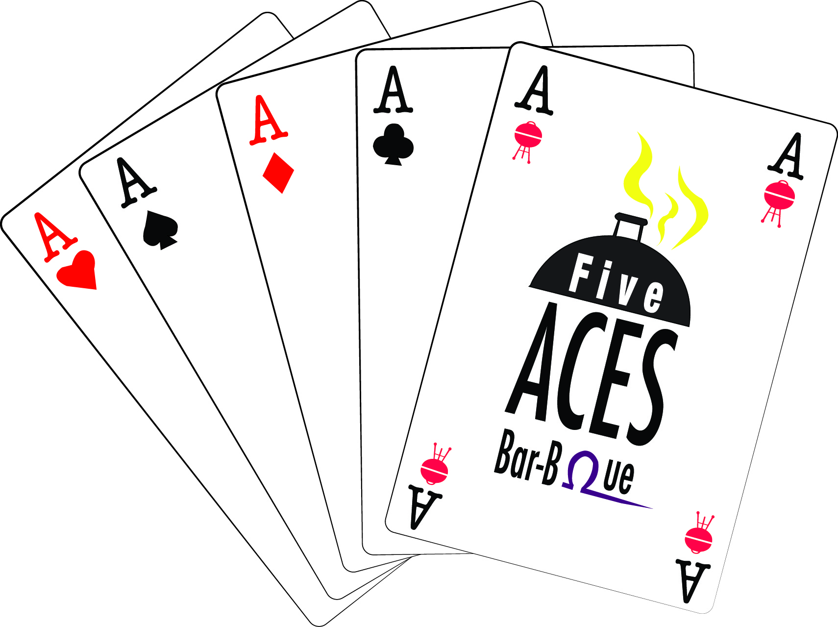 Menu — Five Aces Bar-B-Ωue