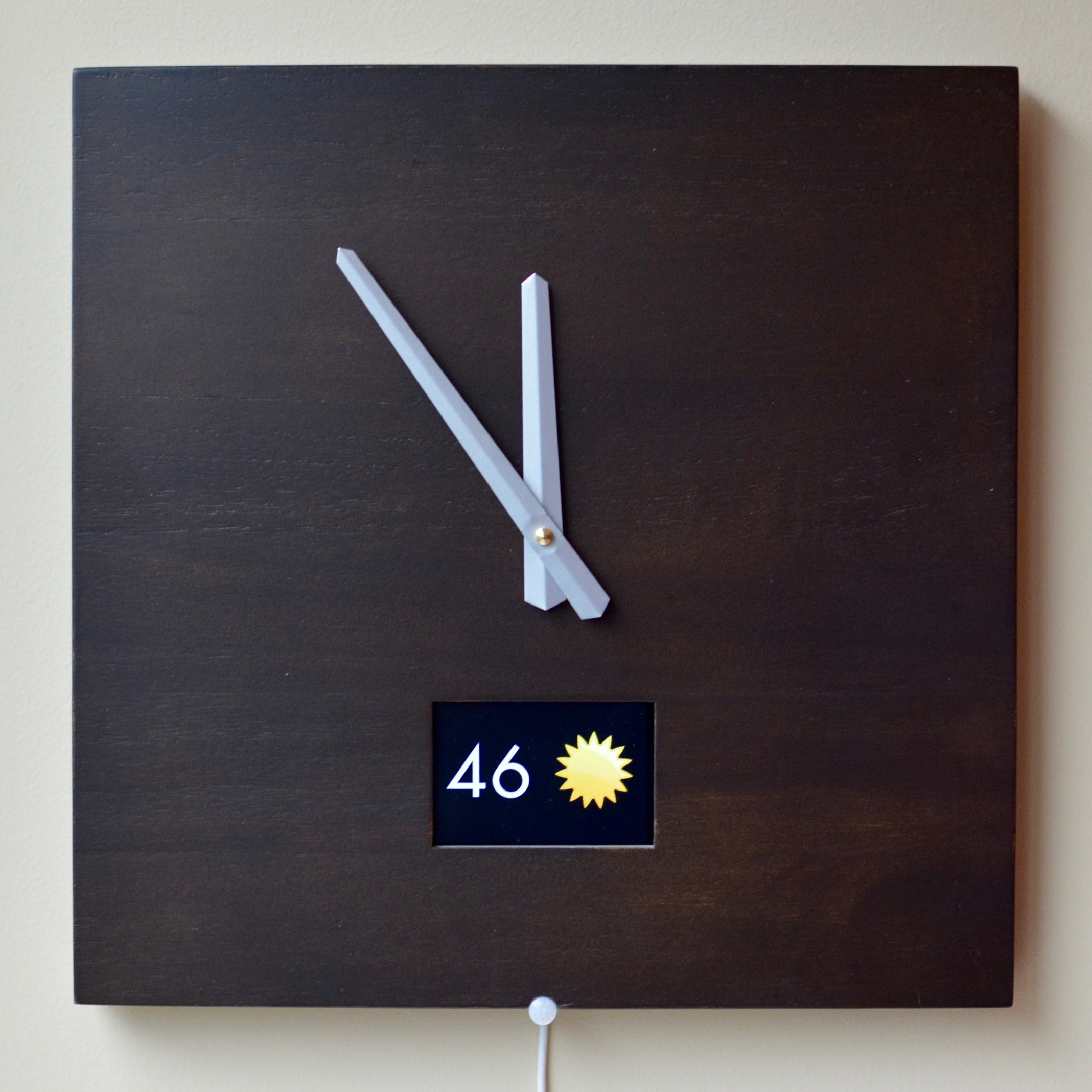 iot smart wall clock