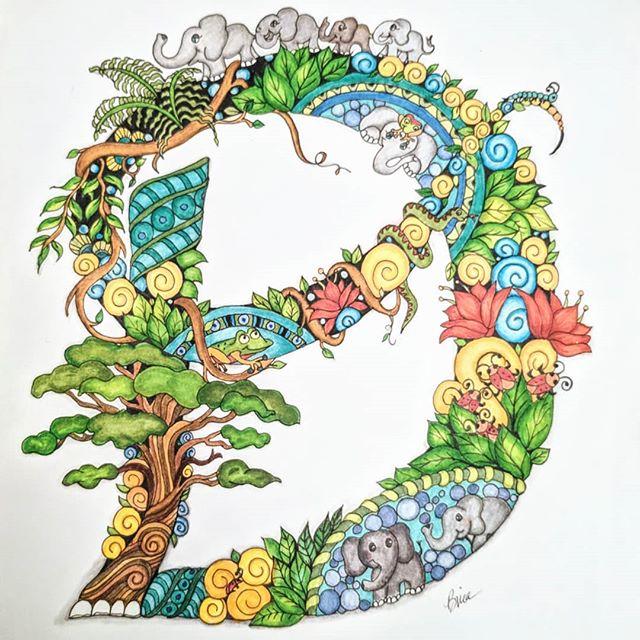 For a special lil man ... #d #zen #zentangle #art #color #coloring #doodle  #doodlesofinstagram #artistoninstagram  #artist #doodling #babyelephants #drawings #illustration #ink