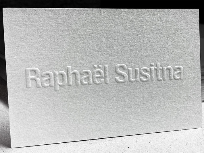 http://cardrabbit.com/debossed-letterpress-business-card-raphael-susitna/