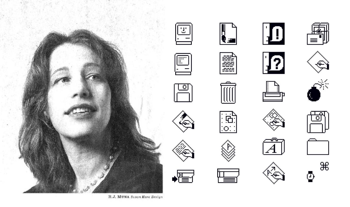سوزان كير مصممة واجهات ماكنتوش