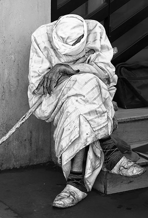 Beggar, Marrakech, Morocco 2014