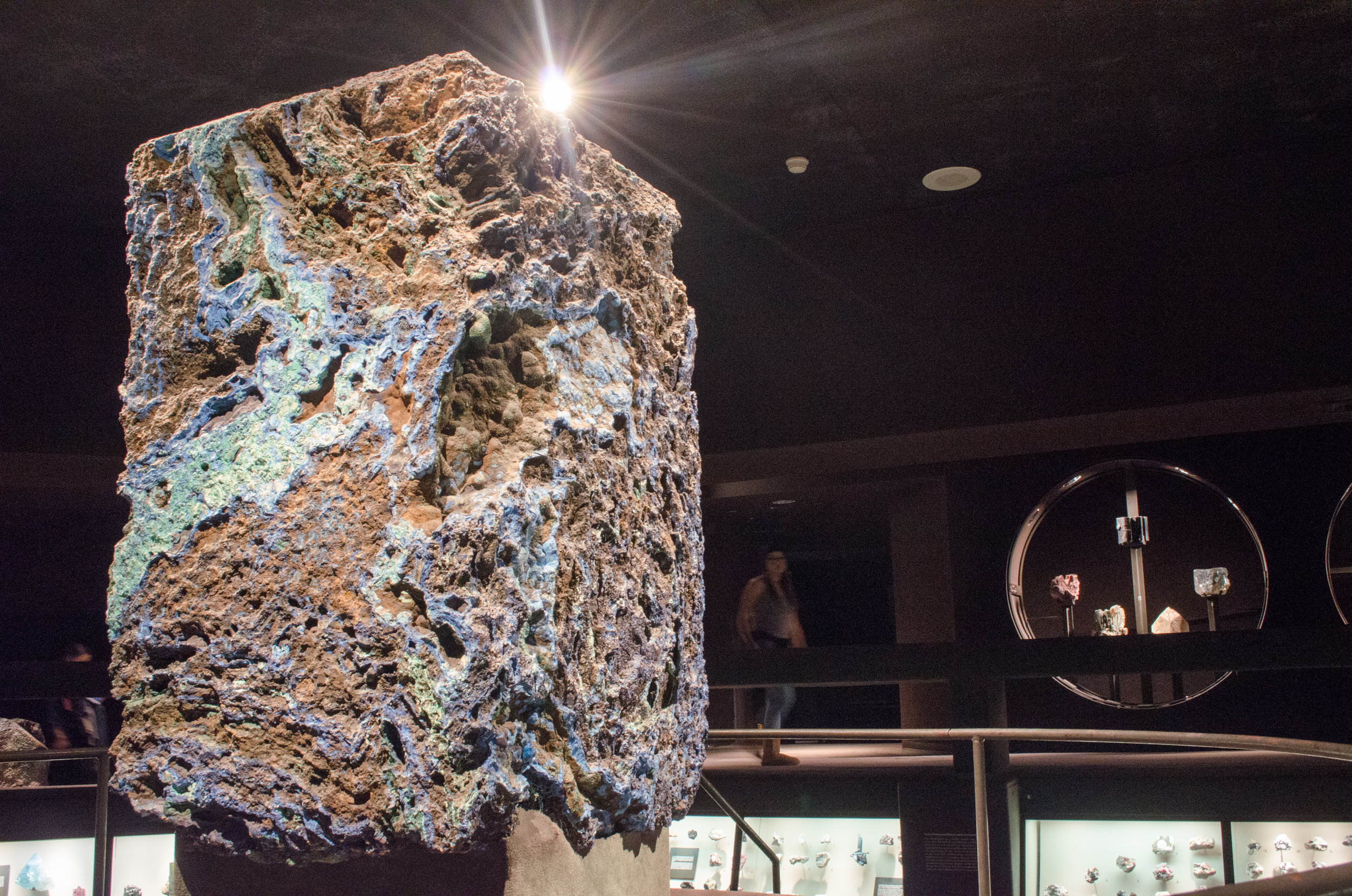Tour of Halls of Gems and Minerals with geologist Jasmine Bayron - March 25