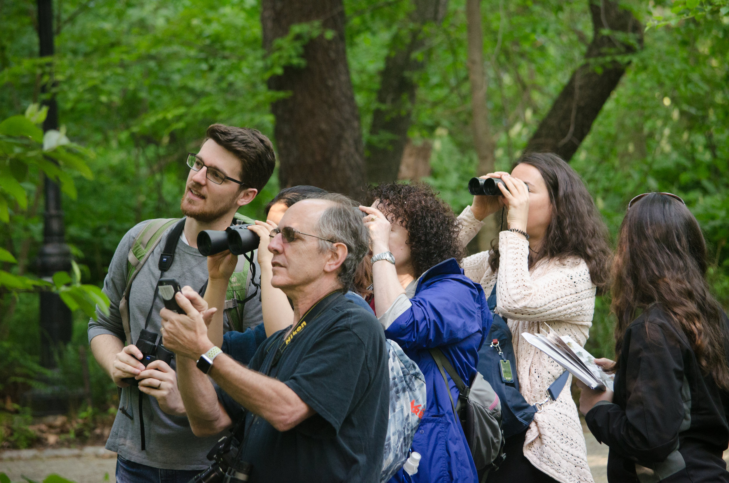 Spring Birding in Central Park with evolutionary biologist Spencer Galen - May 20