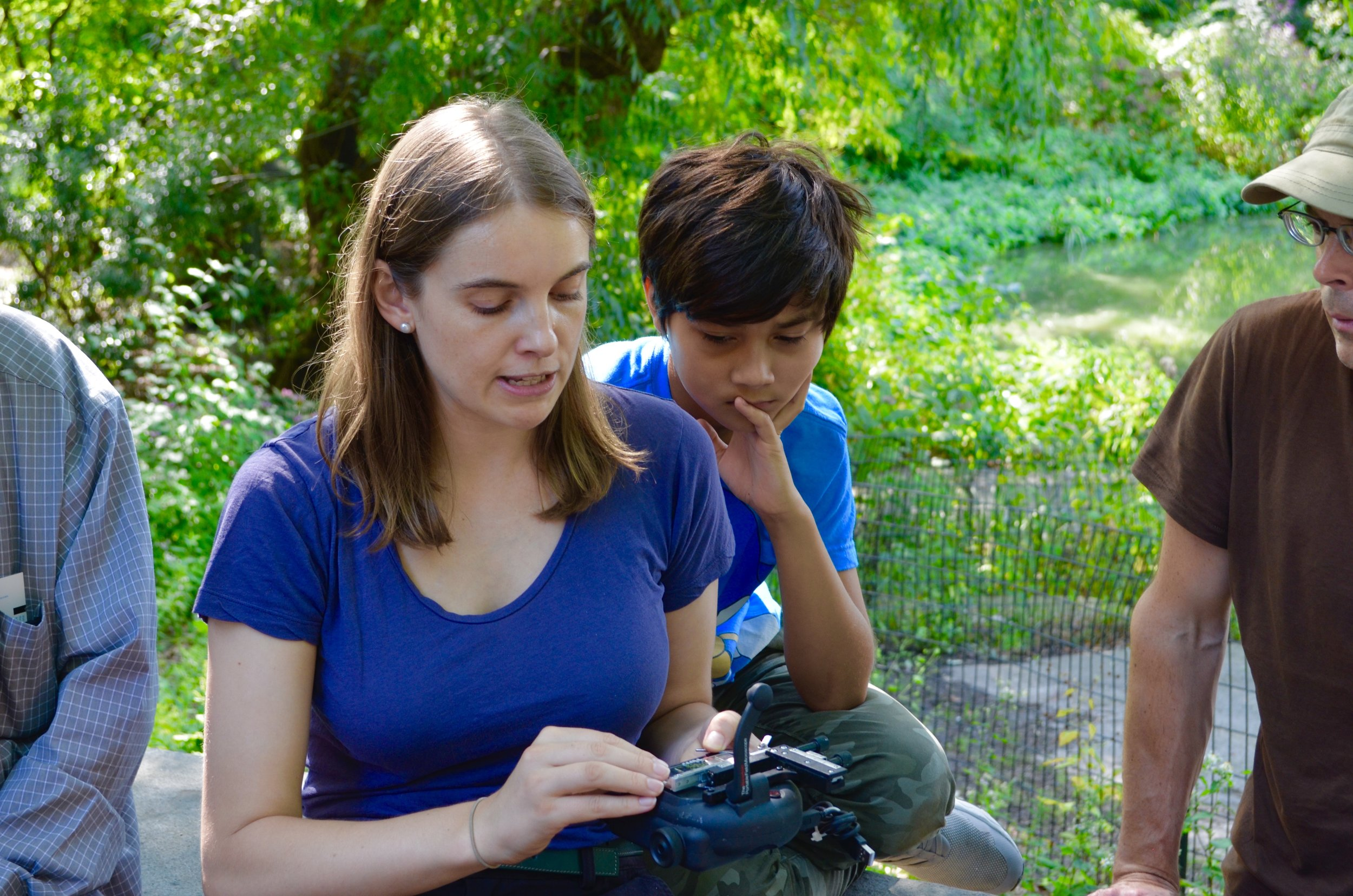 Microscopic Life in NYC Waters with Dr. Sally Warring - September 15