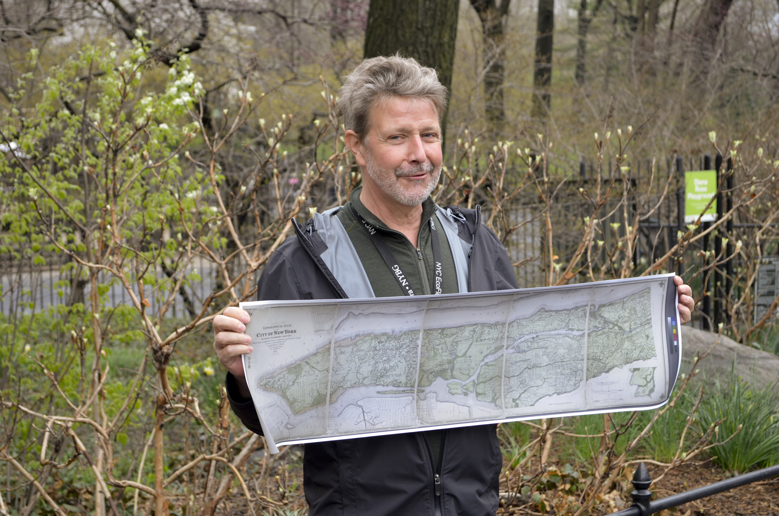 April 13 - Botany Walk in Central Park with NYBG botanist, Daniel Atha
