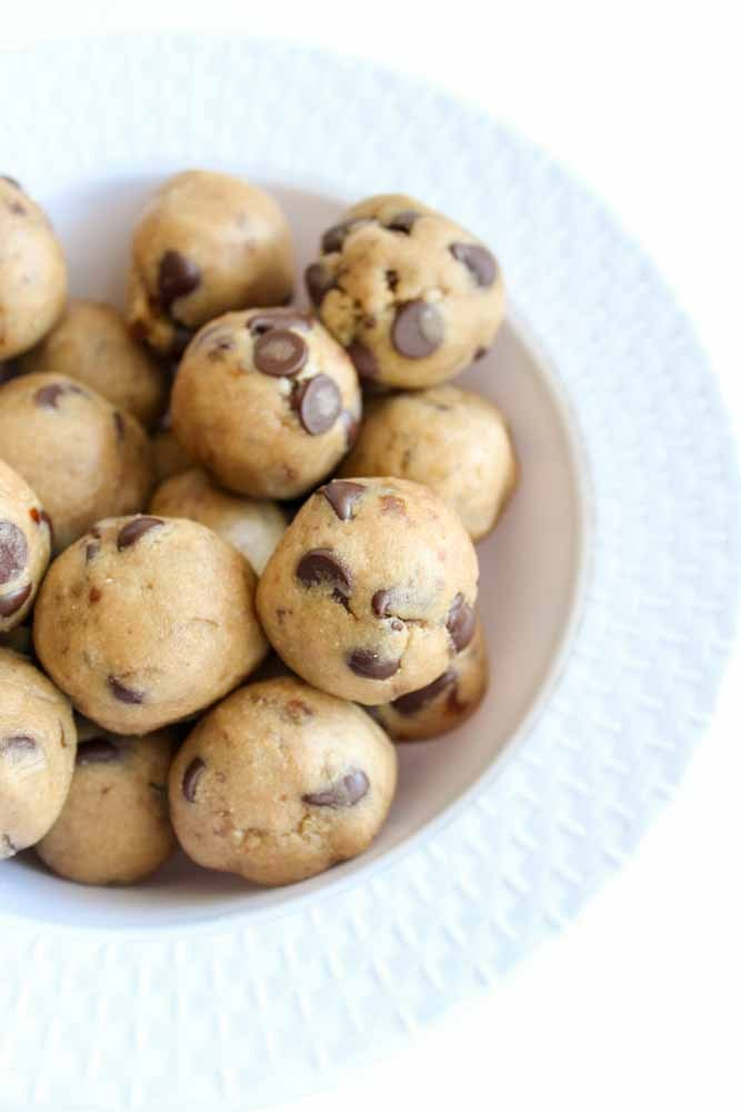 Protein Cookie Dough Bites