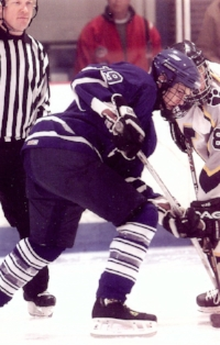 Billy Wondergem was a member of Catholic Central's hockey team from 2002 – 2004