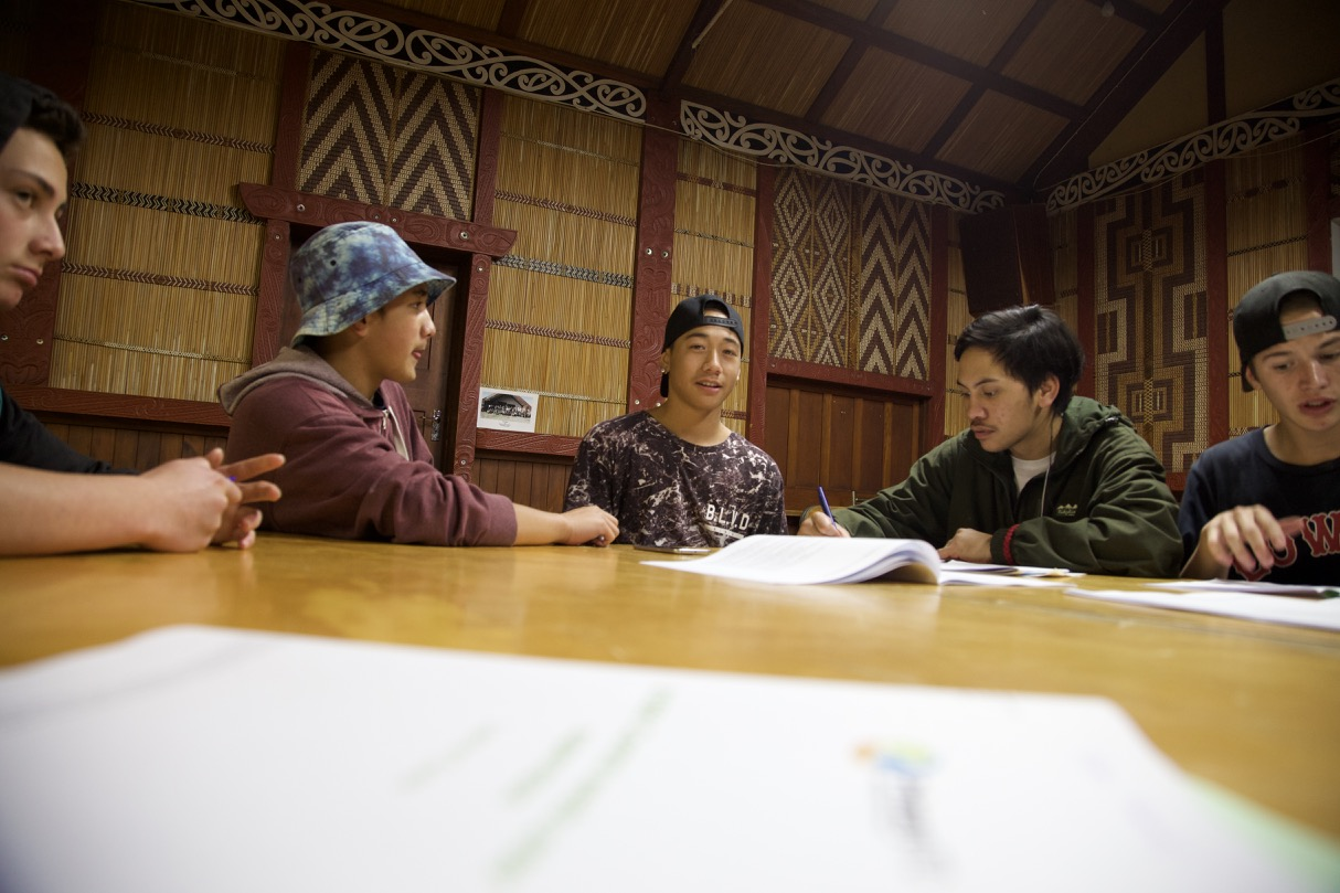 Tauira complete their assessments in a familiar environment that follows the kawa and tikanga of the Marae and the Iwi that hosts them.