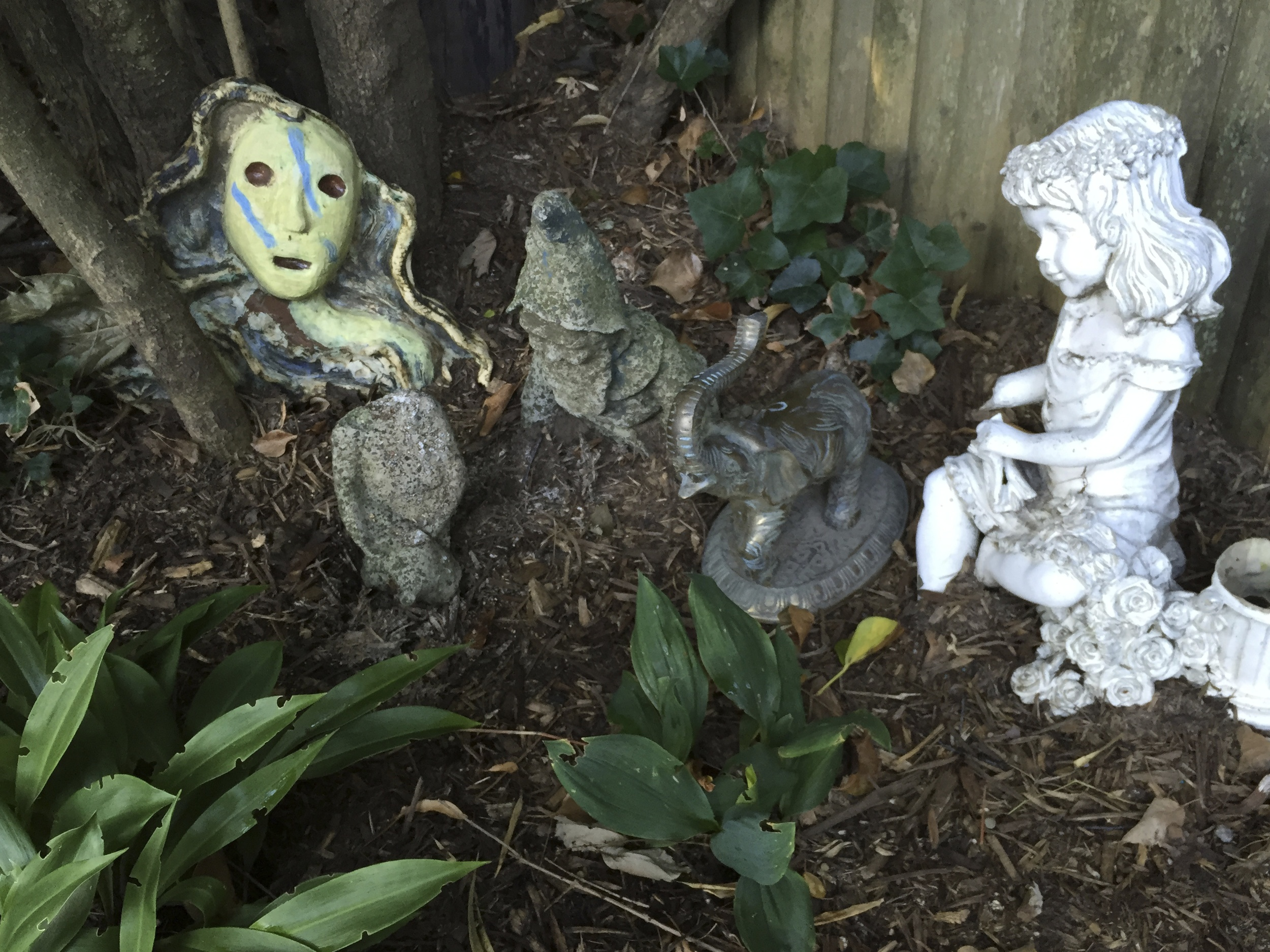 Home for Discarded Sculptures