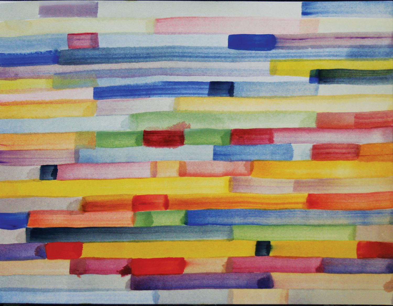 Coloured Brick Wall: Dalfarras Sangiovese Label