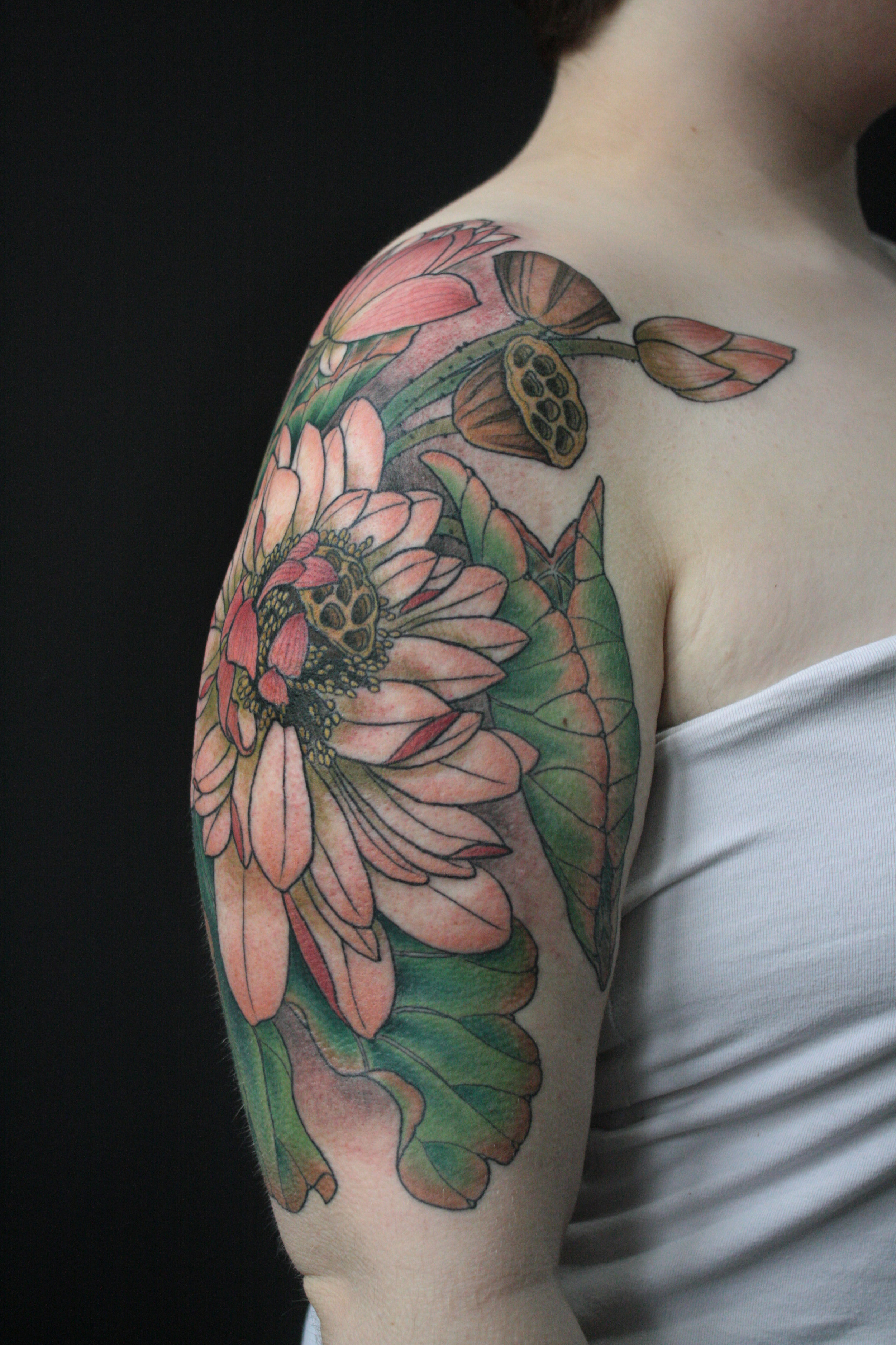 Lotus Half Sleeve.jpg
